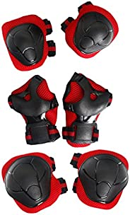 iFCOW Adult Protection Gear Set Gloves Elbow Pads 7pcs Adult Roller Skating Protection Gear Set Knee Pads Helmet