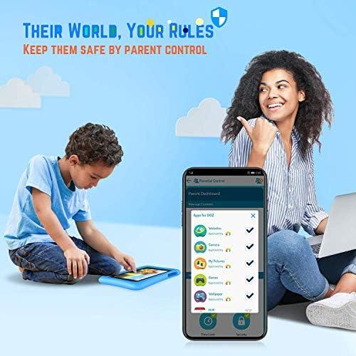 "VANKYO MatrixPad S8 Kids Tablet 8 Inch, 2GB RAM, 32GB ROM, Kidoz Pre Installed, 8"" IPS HD Display, Android 9.0 OS, WiFi Tablet, Kid-Proof, Blue"