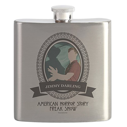 CafePress - Lobster Boy - Stainless Steel Flask, 6oz Drinking Flask ()