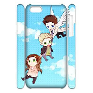 FLYBAI SPN Supernatural Phone 3D Case For Iphone 5C [Pattern-4]