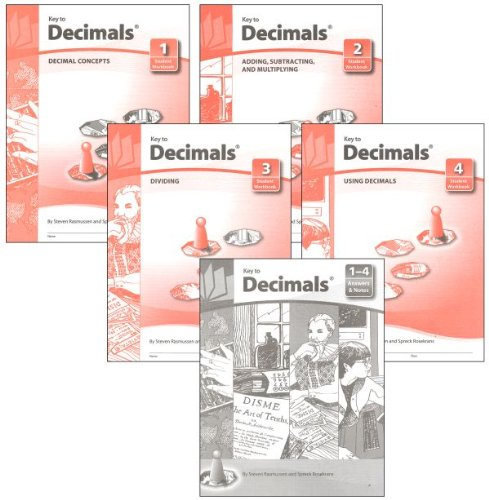 Key to Decimals: Books 1-4 plus Answer (Book 3 Answer Key)