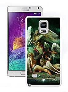 New Unique DIY Antiskid Skin Case For Samsung Note 4 Devil May Cry (2) Samsung Galaxy Note 4 White Phone Case 116