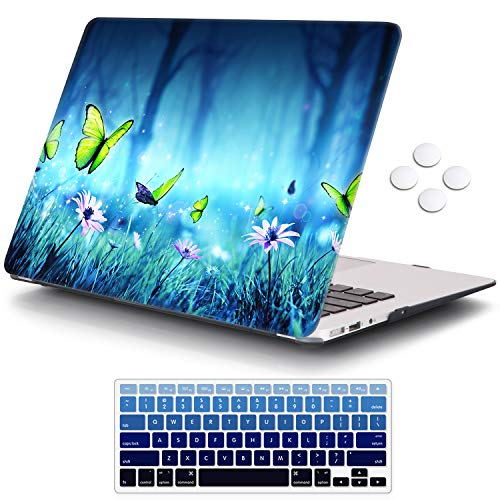 iCasso Plastic Pattern Hard Shell & Keyboard Cover Compatible MacBook 12 Inch Retina Display (Model : A1534)