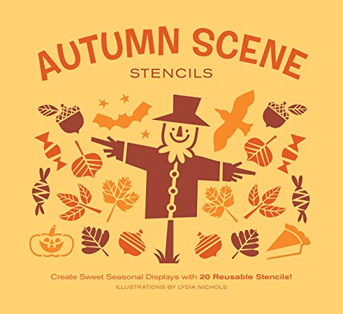 (Autumn Scene Stencils: Create Sweet Seasonal Displays with 20 Reusable)