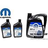 Origine Mopar ATF + 4liquide de transmission automatique 5l + 2x 0.946l pour Chrysler Dodge