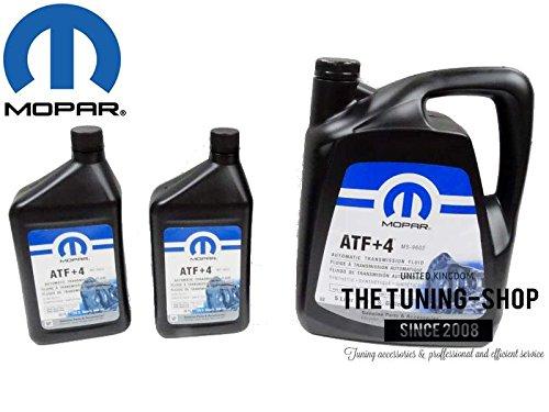 Mopar - Liquide de transmission automatique 5 l + 2 x 0, 946 l pour Chrysler Dodge - ATF+4