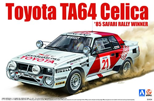 Aoshima Spécification 1/24 BEEMAX Safari Series No.04 TA64 Celica '85 Safari BEEMAX Rally ffb3c9