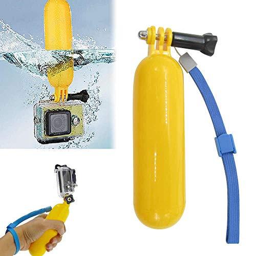 Brain Freezer JoJo Handheld Stick Float Floating Grip, Monopod for Sjcam Gopro, Xiaomi Yi Sports Action Camera (Yellow) Price & Reviews