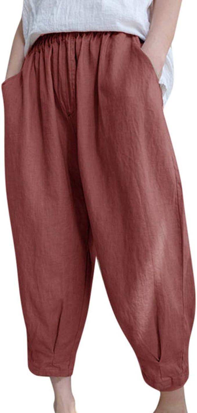 Jaysis Pantaloni Donna,Pantaloni Donna Estivi Larghi Fantasia Pantaloni Donna Vita Alta Pantaloni Donna Sportivo Pantaloni Donna Eleganti Estivi Corti Pantaloncini Donna Pantaloncini Donna Mare
