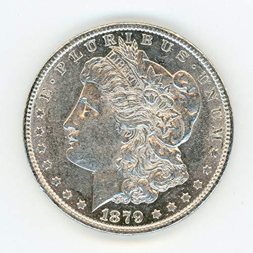 1879 O Morgan - Toned Dollar MS-60+, Semi Proof Like