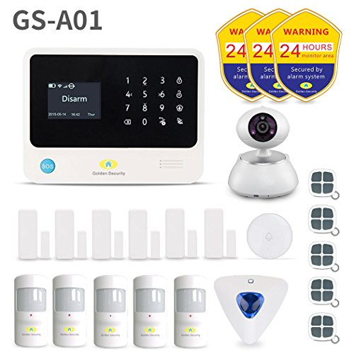 Golden Security GS-A01 Wifi Home & Besiness Security Wireles