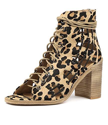 PONY Womens Heels Sandals MOLLINI OCELOT High JAYMAN Shoes Uqw8x50p