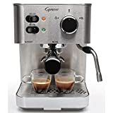 Capresso 118.05 Espresso and Cappuccino Machine New Silver