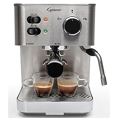 Image of Capresso 118.05 EC PRO Espresso and Cappuccino Machine, New, Silver Home and Kitchen