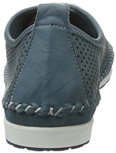WoMen Top Sneakers Low Jeans Blau Conti Andrea 0023446 6xqvwE4Bna