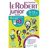 Le Robert Junior Illustre + Son Dictionnaire en Ligne : With Free Internet Access