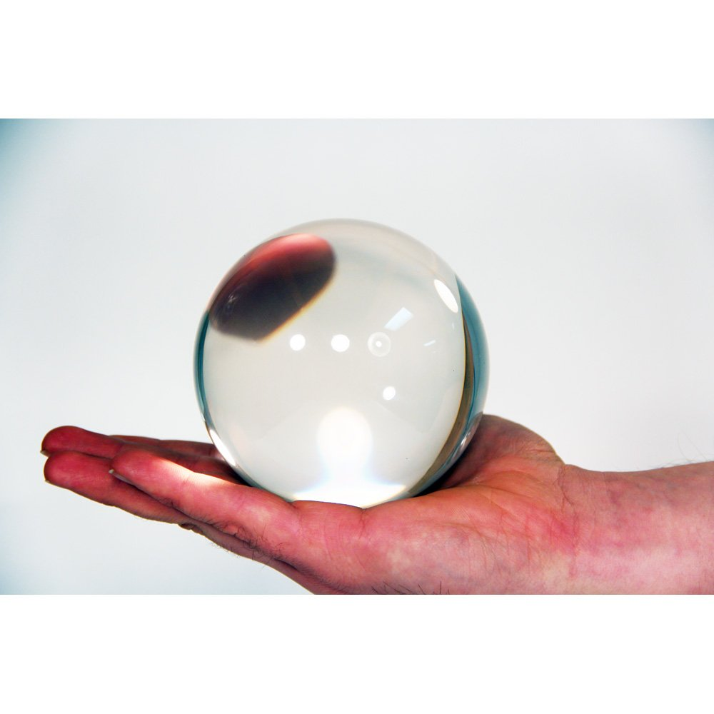 Zeekio Clear Acrylic Contact Ball - 100mm - Approx. 4''