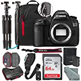 Canon EOS 5DS DSLR Camera (Body Only) and 64GB + Tripod/Monopod + Xpix Camera Strap + Deluxe Premium Accessory Bundle