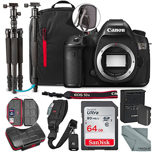 Canon EOS 5DS DSLR Camera (Body Only) and 64GB + Tripod/Monopod + Xpix Camera Strap + Deluxe Premium Accessory Bundle Review