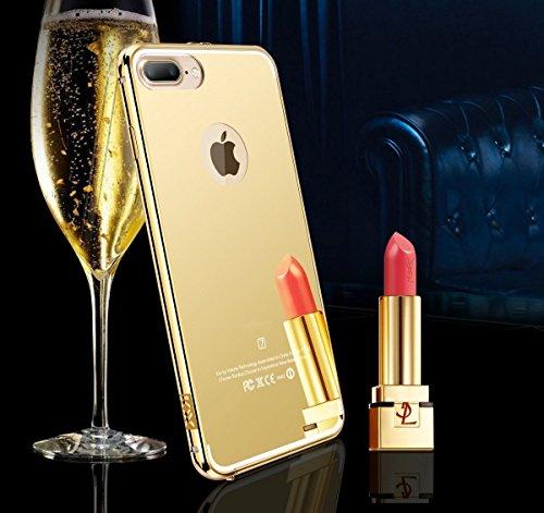 Mirror Miniko Aluminum Ultra thin Case Gold product image