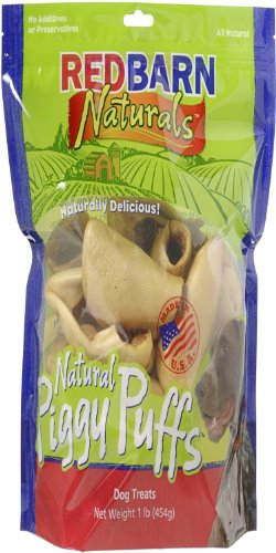 Redbarn Pet Products Piggy Puffs (Jerky Chicken Red Barn)