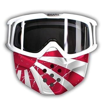 Máscara Japón para casco Shark Raw/Drak + Gafas