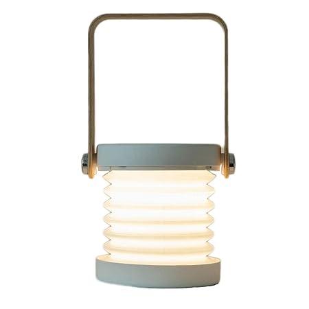 Lámparas De Mesa Modernas Creative Linterna de Carga Luz Cálida ...
