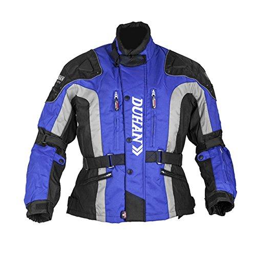 メンズコールドプルーフストリートオートバイジャケット_blue_XL B07DFDNN8Z