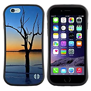"Hypernova Slim Fit Dual Barniz Protector Caso Case Funda Para Apple (5.5 inches!!!) iPhone 6 Plus / 6S Plus ( 5.5 ) [Puesta de sol Beautiful Nature 3""]"