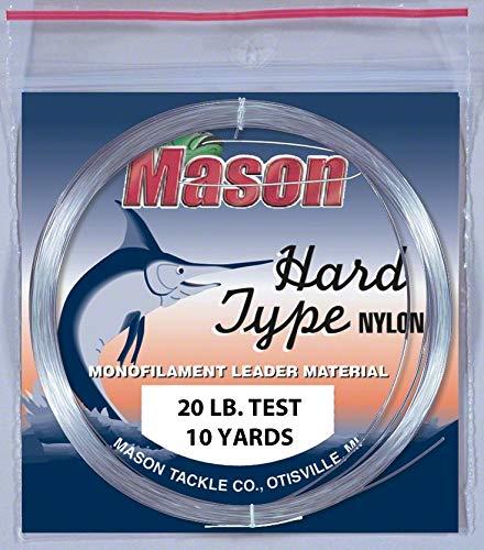 Mason HD-20 Hard Type Nylon Leader