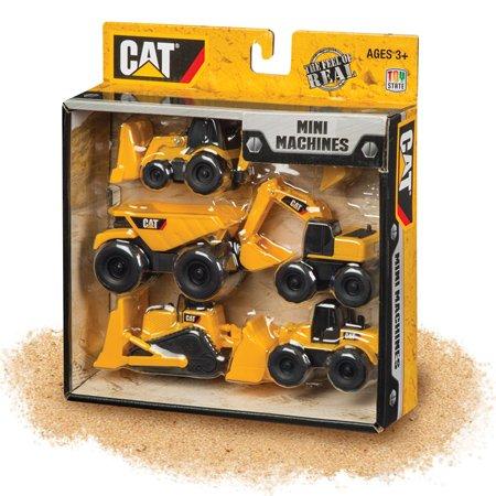 CAT Mini Machines 5 Pack (Front Loader Backhoe)