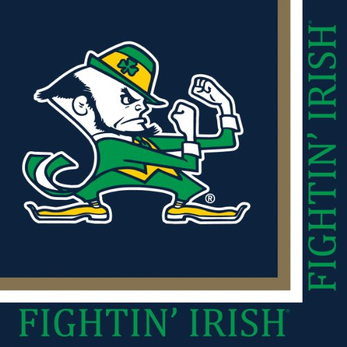 Notre Dame Fighting Irish Lunch Napkins, 20-Count ()