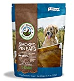 TevraPet Simply Country Naturals Pig Ears for Dogs, 5-Count