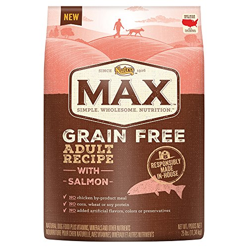 Nutro MAX Adult Grain Free With Salmon Dry Dog Food, 25 lbs.