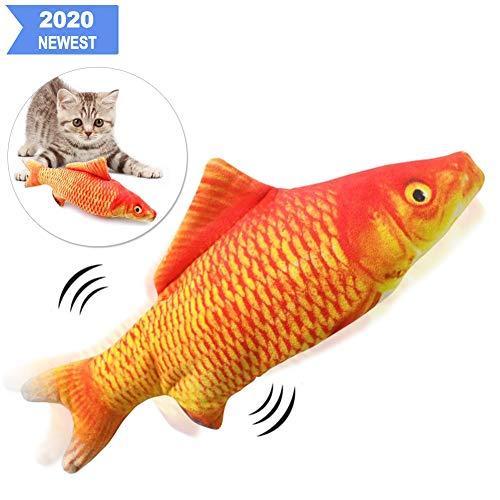 Sunshine smile elektrische Fische Katze,katzenminze Fisch Spielzeug,katzenspielzeug Fisch elektrisch beweglich…