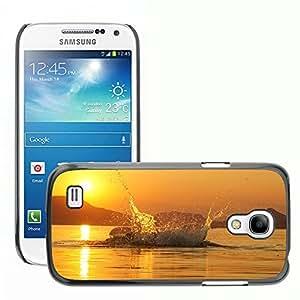Cas Coq Case Cover // M00421768 Lago Balaton Splash Sunset // Samsung Galaxy S4 Mini i9190