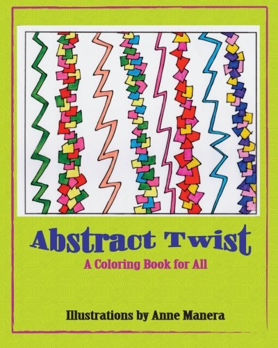 Abstract Twist A Coloring Book for All