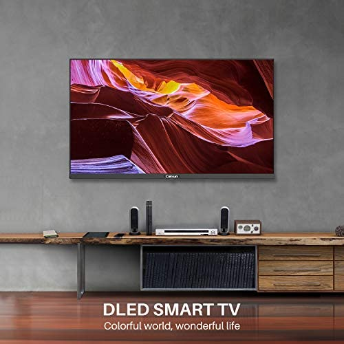 Caixun 32 Inch TV 720p Smart LED TV-C32 High Resolution Television Built-in HDMI, USB – Support Screen Cast Mirroring (2020 Model) 51Iq6pZUxeL