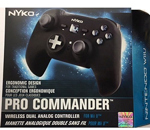 Pro Commander for Wii U - Wand Wii Nyko