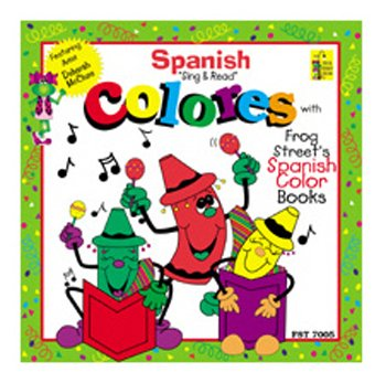 Frog Street Press Spanish Color Cd