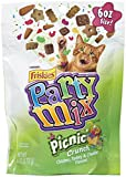 Purina Friskies Party Mix Cat Treats Picnic Crunch,6oz For Sale