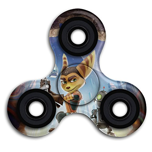 Cool Animated Ratchet And Clank Movie Poster Hand & Finger Spinner (Ratchet Costume)