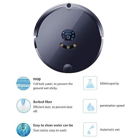 CQL Robot Aspirador, 4-en-1 Modo de Limpieza de la aplicación de