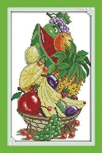 chreey fruit basket series summer fruit cross stitch fashion