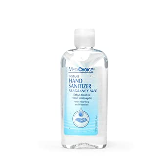 Amazon Com Medichoice Gel Hand Sanitizer Fragrance Free Flip