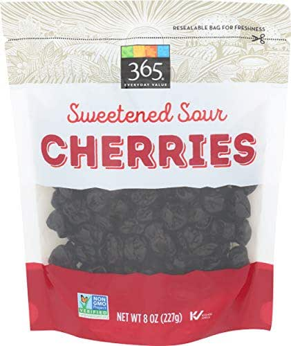 Dried Fruit & Raisins: 365 Everyday Value Sweetened Sour Cherries