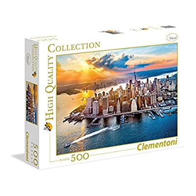 Clementoni 35038 High Quality Collection Puzzle New York 500 Pezzi