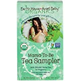 Organic Pregnancy Mama-To-Be Tea Sampler,  16 Teabags/Box (pack of 3)