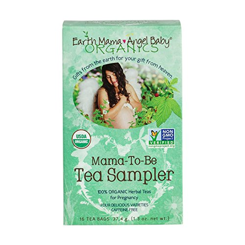 (Organic Pregnancy Mama-To-Be Tea Sampler, 16 Teabags/Box (pack of 3))