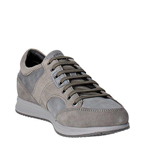 grey 41 Uomo 022cl Sneakers U54h5a Geox Stone qRP48y